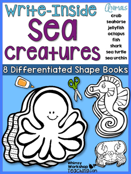 Write Inside SEA LIFE Writing Prompts