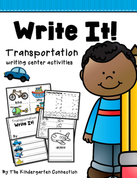 Write It! Transportation Writing Center Activities