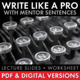 Write Like a Professional, Tips & Tricks, Quickly Improve