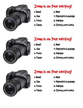 Write Like a Storyteller Anchor Chart