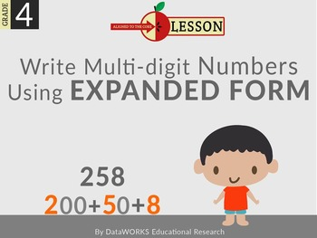 Write Multi-digit Numbers Using Expanded Form
