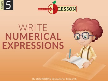 Write Numerical Expressions