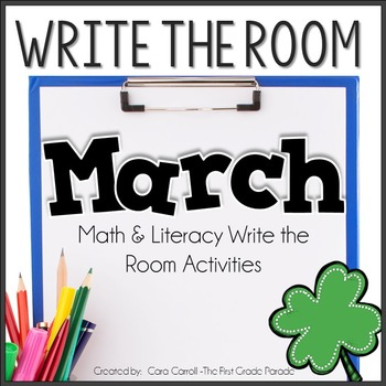 Write the Room Math & Literacy - March