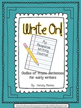 Write On! A Response Writing Journal