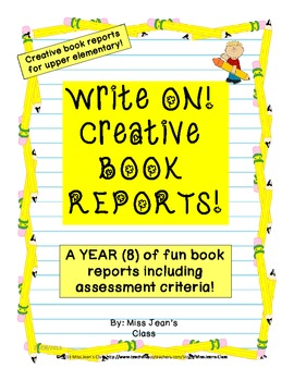 Write On! Creative Book Reports
