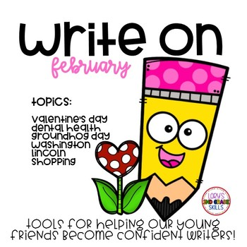Write On...Monthly FEBRUARY Bundle