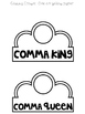 Write On! Fairy Tales: Comma Queen or King FREEBIE