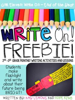 Write On! Unit 11- My Future is Bright FREEBIE