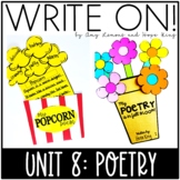 Write On!  Unit 8:  Poetry {A 10 Day Writing Unit}