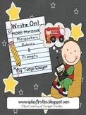 Write On...Mini-Books Freebie Extended