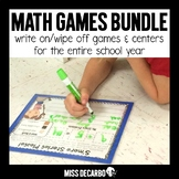 Write On Wipe Off Math Games and Centers BUNDLE PACK