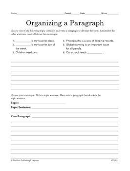 Write Opinion Pieces (CCSS W.5.1)