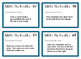 Write The Doodle Task Cards FREE SAMPLE - drawing and desc