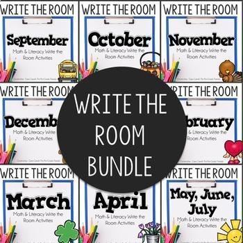Write The Room Yearlong Bundle