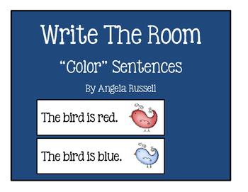 """Write The Room ~ """"Color"""" Sentences"""