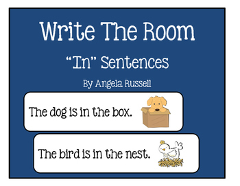 "Write The Room ~ ""In"" Sentences"