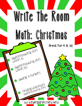 Write The Room Math: Christmas