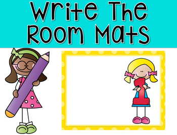 Write The Room Mats {Numbered Mats}