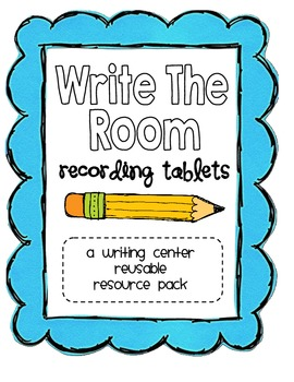 """""""Write The Room"""" Recording Tablets Center Pack"""