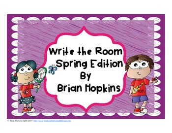 Write The Room Spring Beginning Sounds