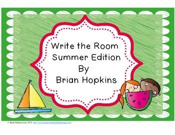 Write The Room Summer Beginning Sounds