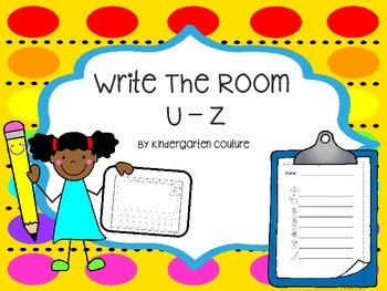 Write The Room U - Z