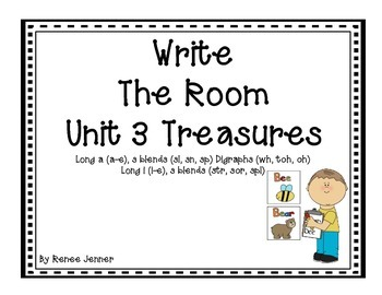 Write The Room Unit 3 First Grade Treasures