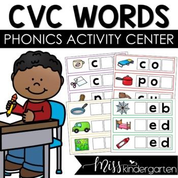 Write & Wipe {CVC words}