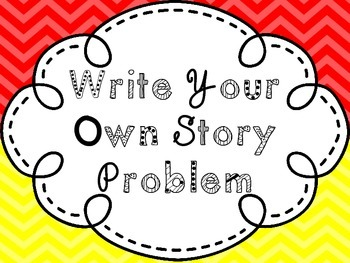 Write Your Own Story Problem