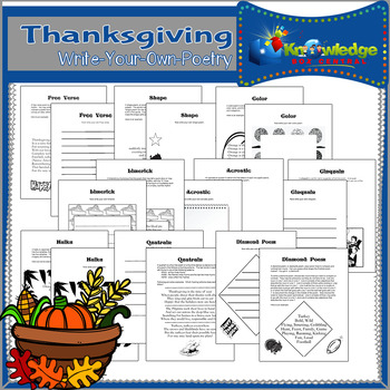 Write-Your-Own Thanksgiving Poetry