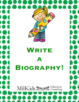 Write a Biography!