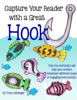 Write a Great Hook (Lead) Craftivity