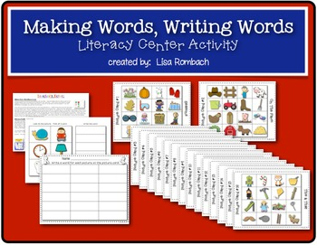 Write a Word Literacy Center Activity
