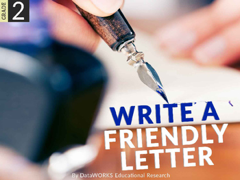 Write a friendly letter