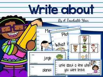 Write about..