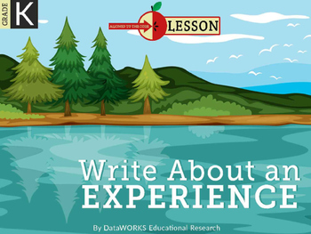 Write About an Experience
