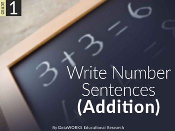 Write Addition Number Sentences