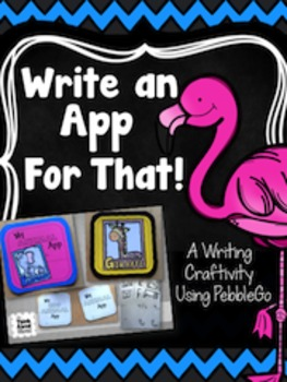 Write an App for That! Craftivity - {Animals - Set One}