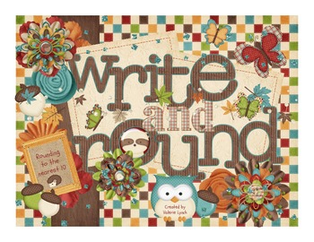 Write and Round: Rounding 2-digit and 3-digit numbers to t