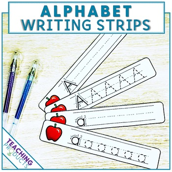 Write and Wipe Alphabet Cards - Handwriting Practice