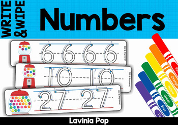 Write and Wipe - Numbers with Correct Number Formation