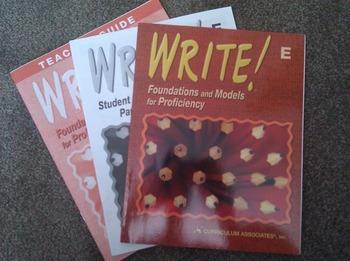 Write! by Curriculum Associates, book E (grade 5)