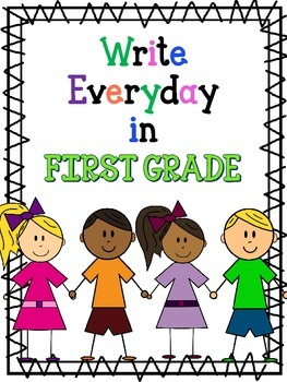 Write everyday in First Grade with Dolch Words