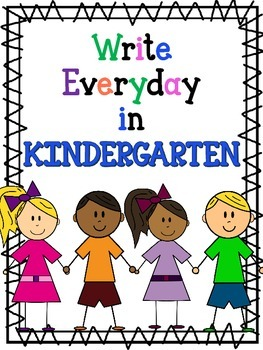 Write everyday in Kindergarten with Dolch Words