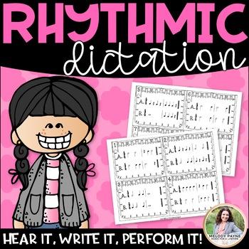 Write it! Rhythms! for Elementary Music Students {Rhythm C