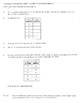 Write linear function y=mx+b table equation situation buck