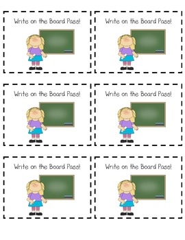 Write on the Board Pass