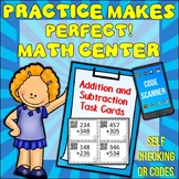 Math Addition and Subtraction Task Cards {Write On Wipe Off}