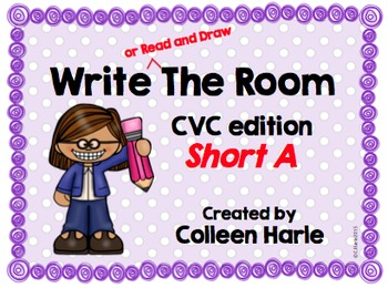 Write (or Read and Draw) the Room/CVC Short A