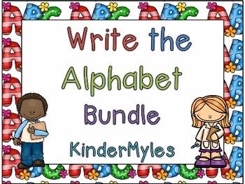 Write the Alphabet Bundle